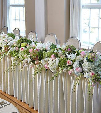 The FTD State of Bliss Head Table Arrangement
