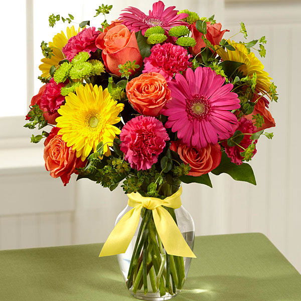 The Ftd 174 Bright Days Ahead Bouquet Judy S Village Flowers
