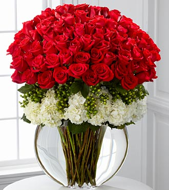 Lavish Luxury Rose Bouquet 75 Stems Of Roses With Hydrangea Judy S Village Flowers