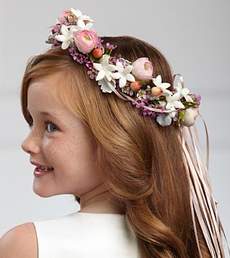 The FTD Lila Rose Headpiece