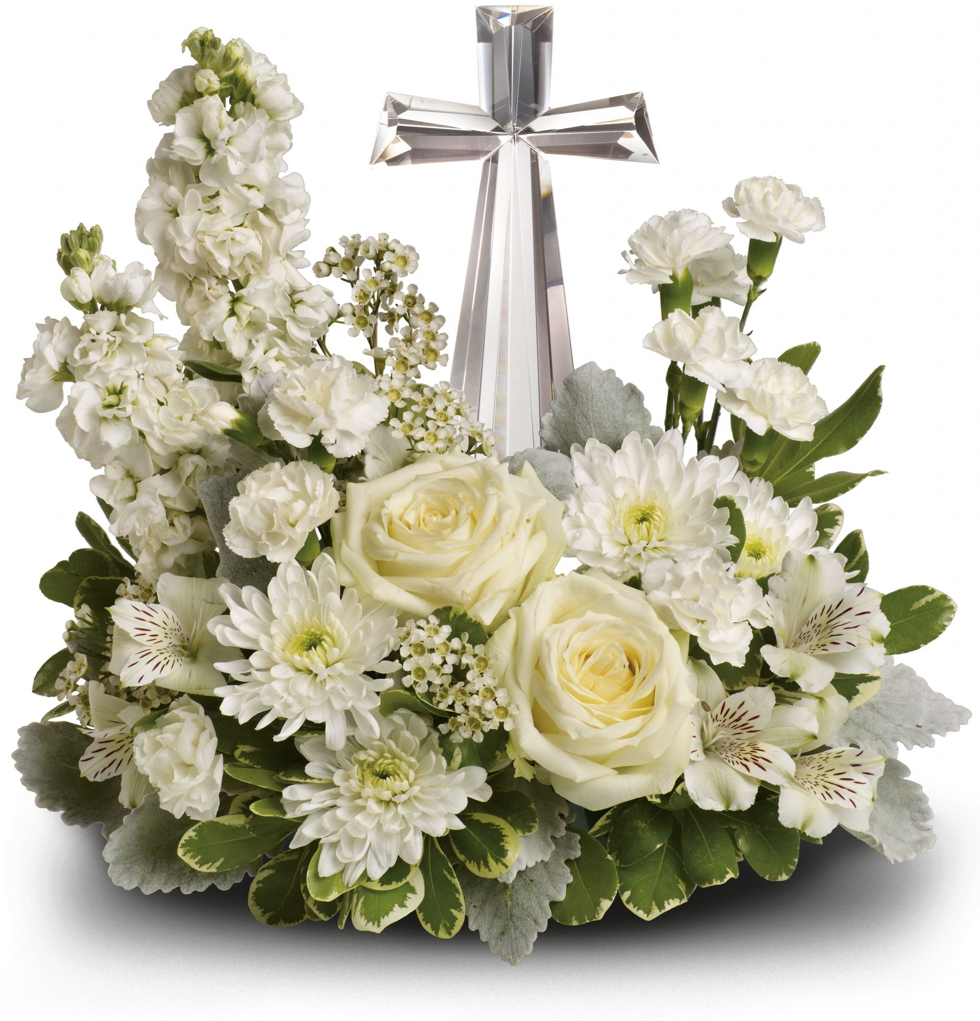 Telefloras divine peace bouquet judys village flowers good izmirmasajfo Image collections