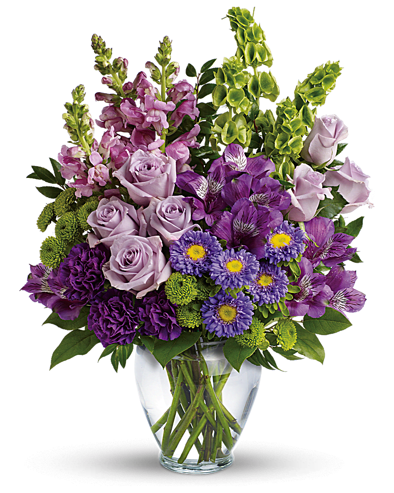 Lavender Charm Bouquet Judys Village Flowers