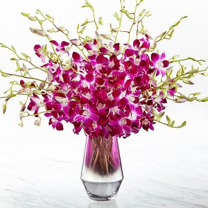 The pink at heart orchid bouquet judys village flowers previous next mightylinksfo